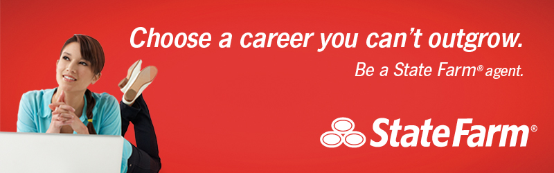 Choose a career you can't outgrow. Be a State Farm agent. State Farm is a registered trademark