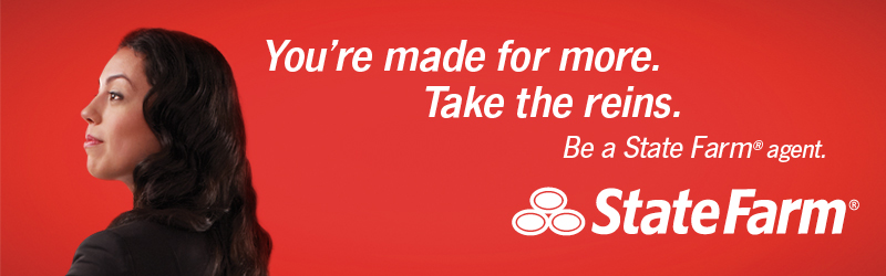 You're made for more. Take the reins. Be a State Farm agent. State Farm is a registered trademark