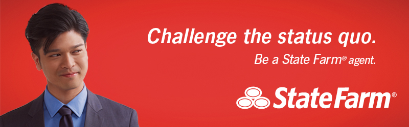 Challenge the status quo. Be a State Farm agent. State Farm is a registered trademark