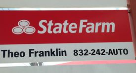 State farm pylon sign