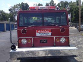 Firetruck front