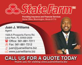 State farm 8x10 ad
