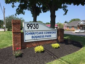 Johnnycake sign facing office 7 2 2015