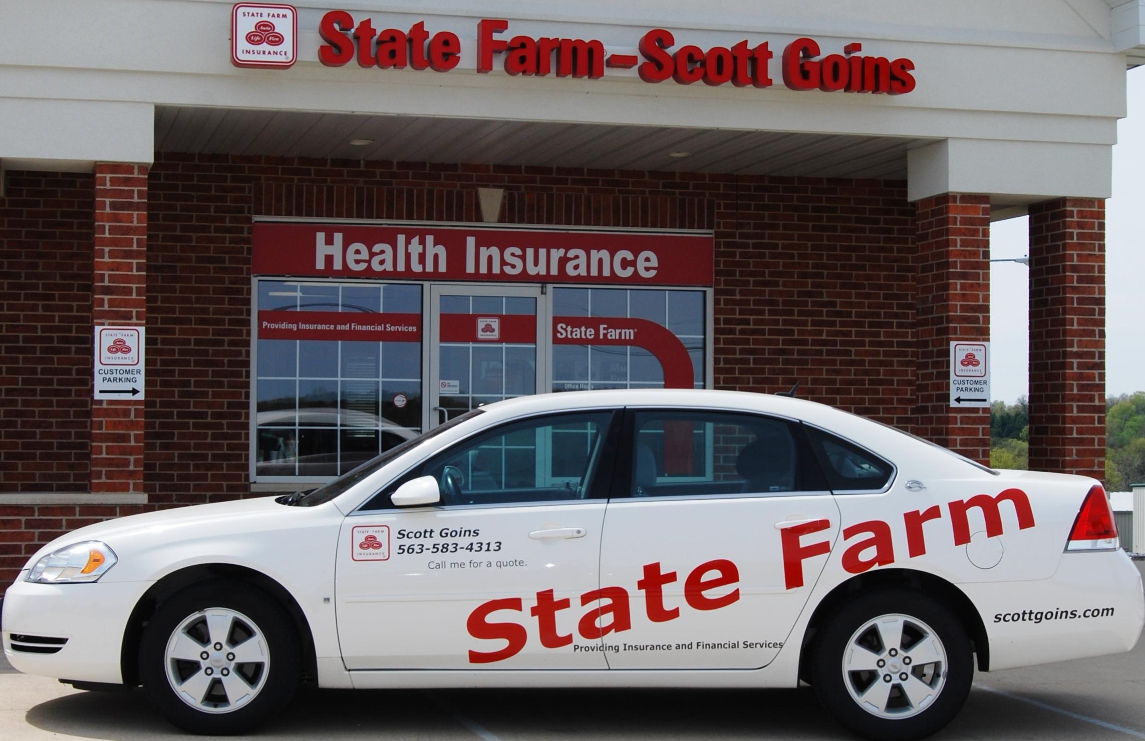 State Farm Quote Car Scott Goins  State Farm Agent