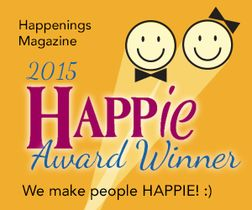 Happy award banner