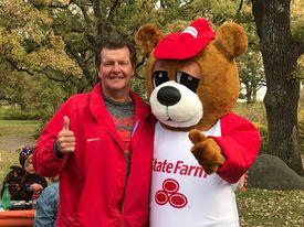 Brad and bear