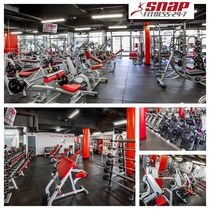 Snap fitness equipment
