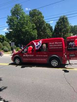 Van marching