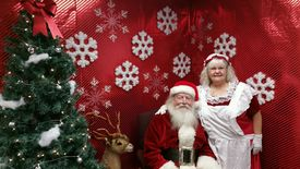 Santa and mrs clause