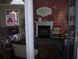 Office taken  from front door