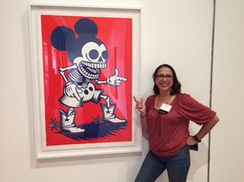 Myra at cal state la gallery