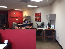 Office before halloween