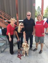 Allison jeff and glory   arson dog hero 2015