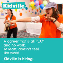 Kidville is hiring v5