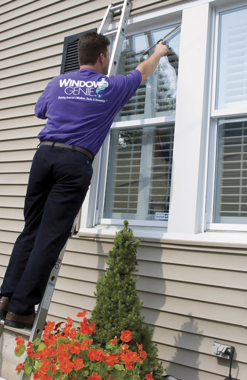 Window genie window cleaning