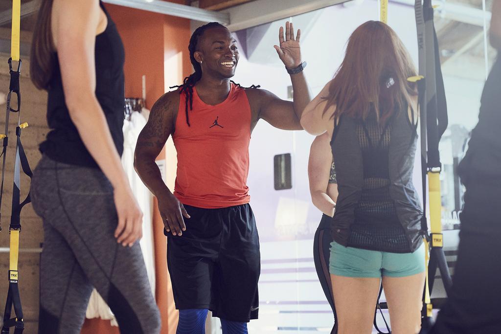 Crunch Fitness Locker Rooms
