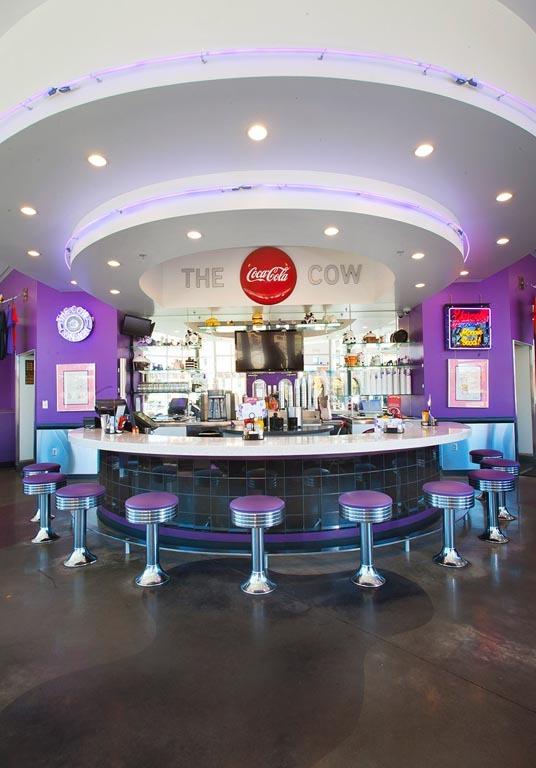 Purple cow conway soda fountain ii