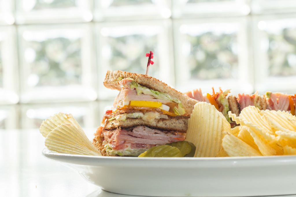 Best smoked club sandwich %28stacked%29