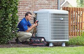 Professional air conditioning repair installation