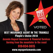 Auto insurance raleigh amanda hagood top insurance agent 2018