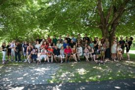 2017 summer picnic group photo