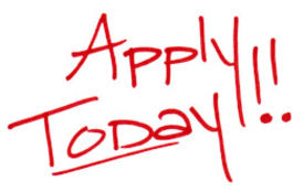 Apply today red