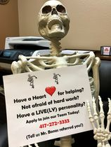 Mr. bones hiring ad