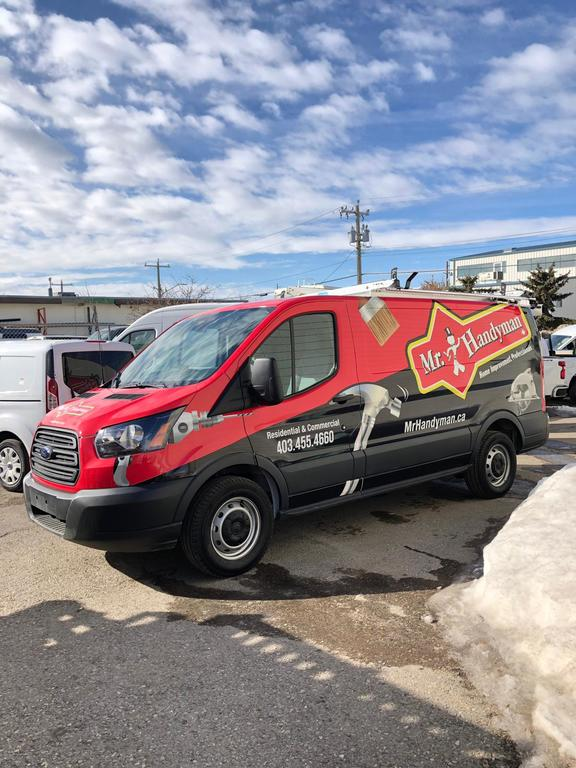 Mr handyman calgary new van