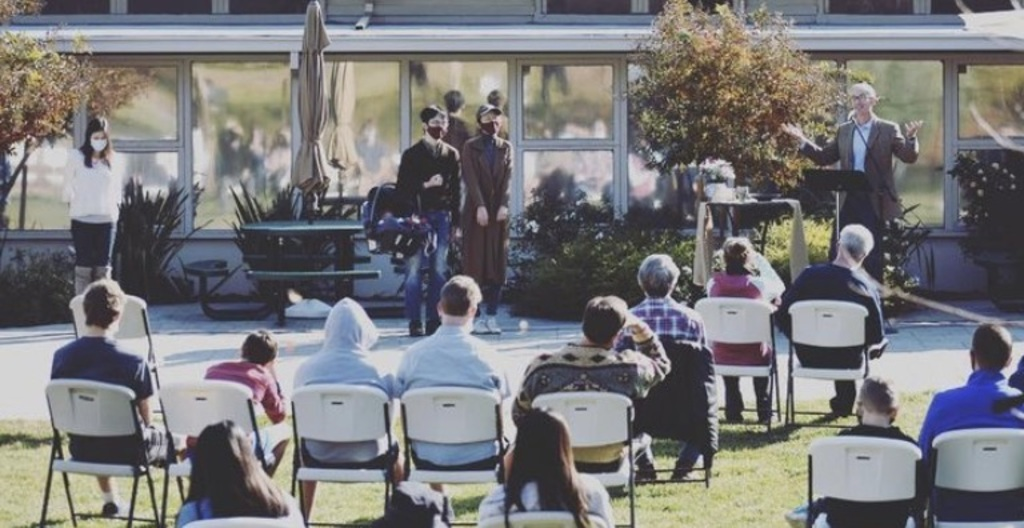 Communion Outdoor Services 2020 and 2021