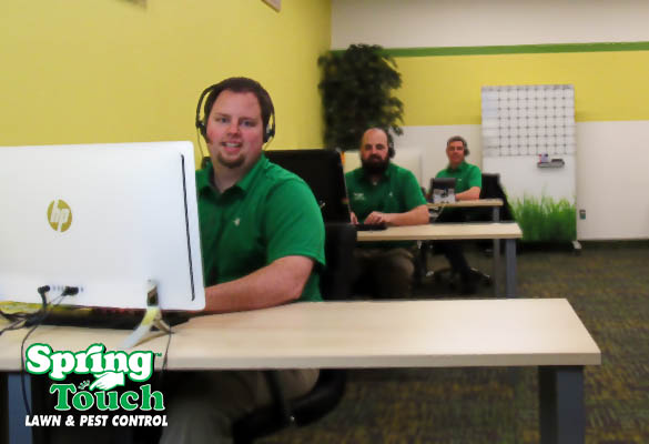 spring touch call center