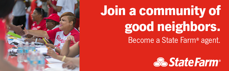 Join a community of good neighbors. Become a State Farm agent.