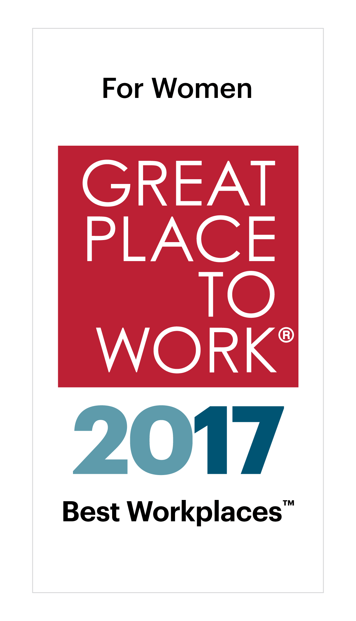 FORTUNE's 100 Best Workplaces for Women list