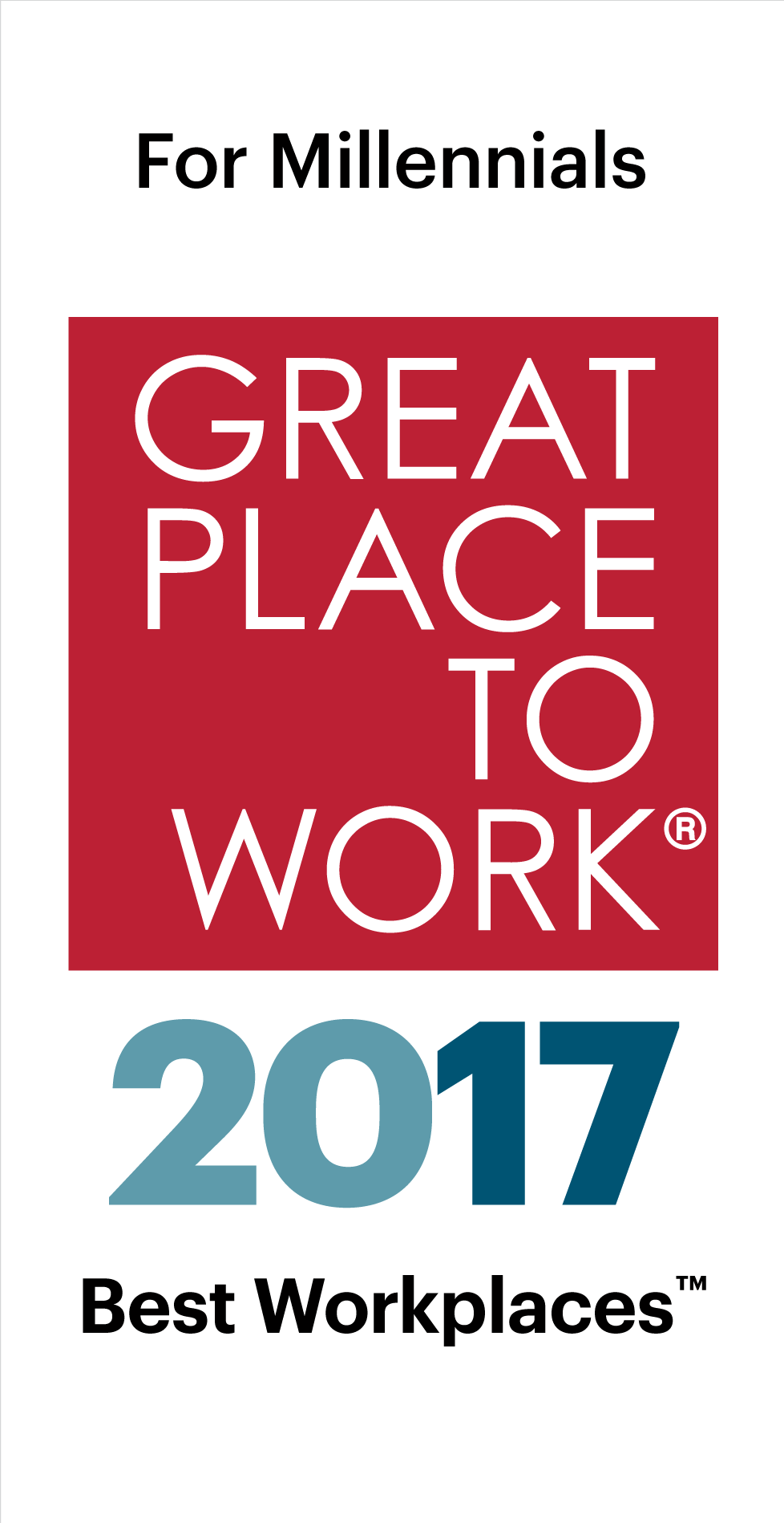 FORTUNE's 100 Best Workplaces for Millennials list